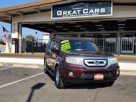 2009 Honda Pilot for sale at Great Cars in Sacramento CA