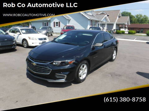 2016 Chevrolet Malibu for sale at Rob Co Automotive LLC in Springfield TN