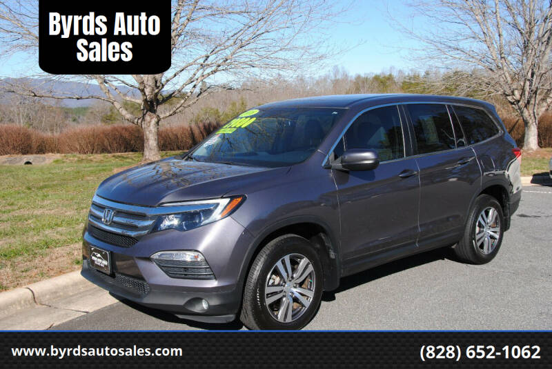 2018 Honda Pilot for sale at Byrds Auto Sales in Marion NC