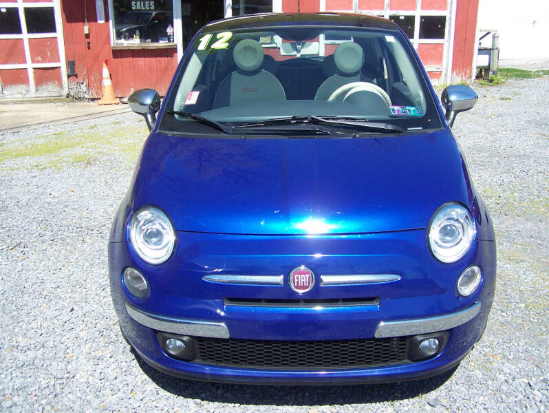 2012 FIAT 500 for sale at D & D AUTO SALES in Jersey Shore PA