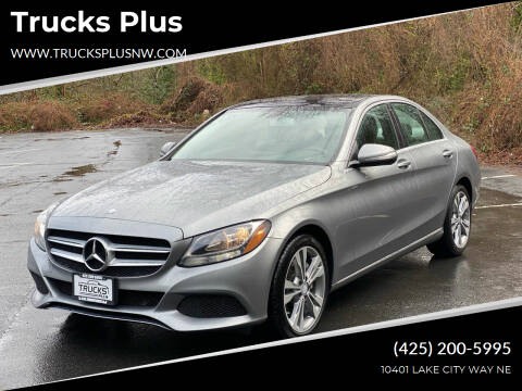 2015 Mercedes-Benz C-Class for sale at Trucks Plus in Seattle WA