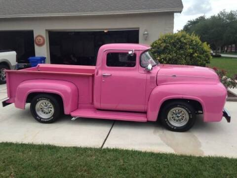 1956 Ford F-100 for sale at Haggle Me Classics in Hobart IN