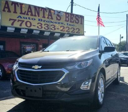 2018 Chevrolet Equinox for sale at Atlanta's Best Auto Brokers in Marietta GA