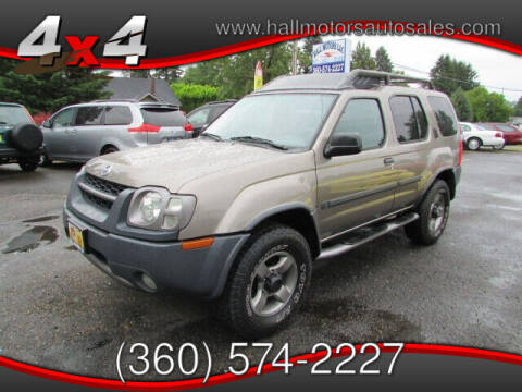 2003 Nissan Xterra for sale at Hall Motors LLC in Vancouver WA