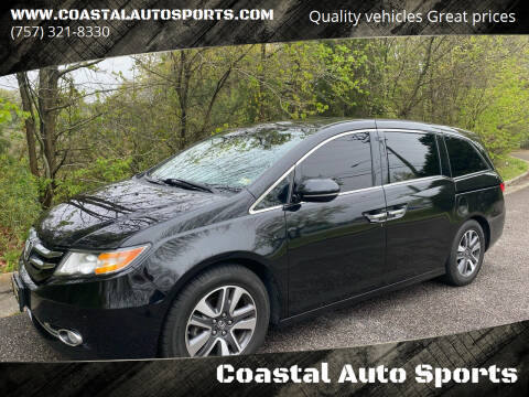 2014 Honda Odyssey for sale at Coastal Auto Sports in Chesapeake VA