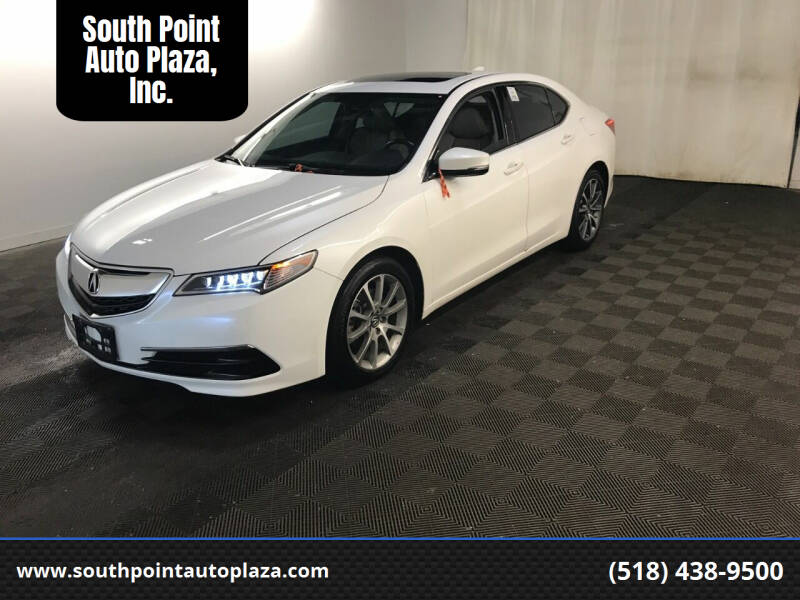 2016 Acura TLX for sale at South Point Auto Plaza, Inc. in Albany NY