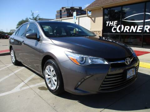 2016 Toyota Camry for sale at Cornerlot.net in Bryan TX