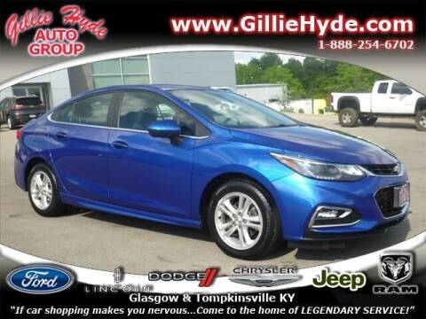 2018 Chevrolet Cruze for sale at Gillie Hyde Auto Group in Glasgow KY