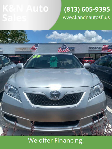 2009 Toyota Camry for sale at K&N Auto Sales in Tampa FL