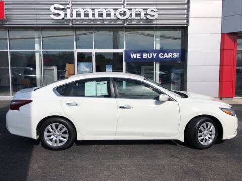 2018 Nissan Altima for sale at SIMMONS NISSAN INC in Mount Airy NC