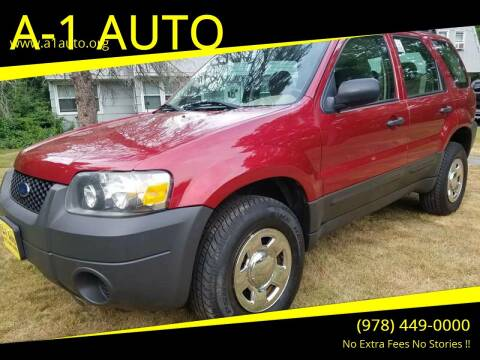 2005 Ford Escape for sale at A-1 Auto in Pepperell MA