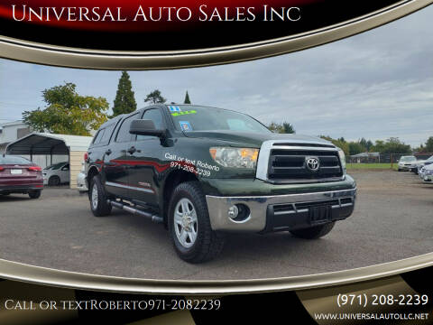 2011 Toyota Tundra for sale at Universal Auto Sales Inc in Salem OR
