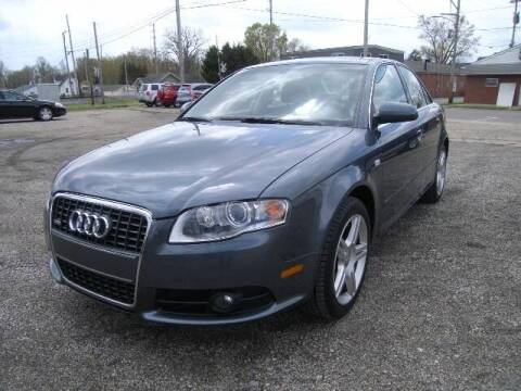 2008 Audi A4 for sale at HALL OF FAME MOTORS in Rittman OH