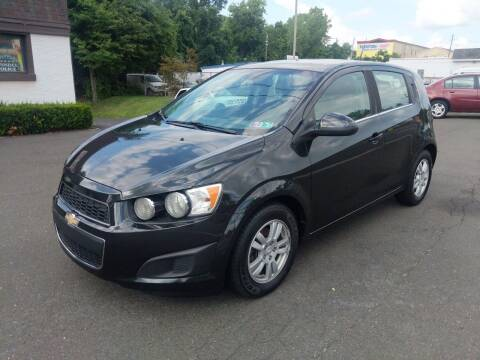 2013 Chevrolet Sonic for sale at Cash 4 Cars in Penndel PA