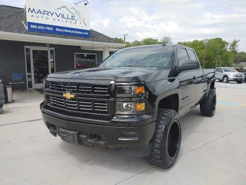 2015 Chevrolet Silverado 1500 for sale at Maryville Auto Sales in Maryville TN