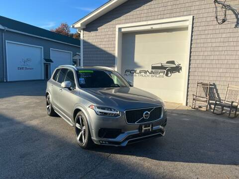 2016 Volvo XC90 for sale at Fournier Auto and Truck Sales in Rehoboth MA