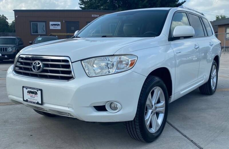 2009 Toyota Highlander for sale at DYNAMIC AUTO GROUP in Houston TX