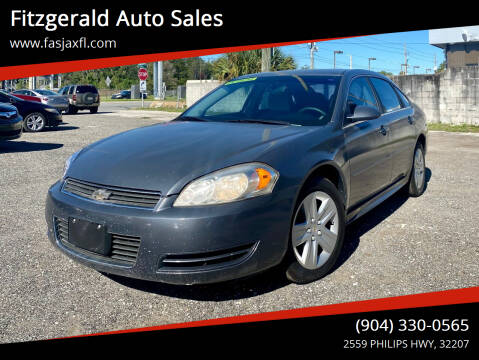 2011 Chevrolet Impala for sale at Fitzgerald Auto Sales in Jacksonville FL