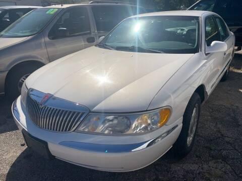 1998 Lincoln Continental for sale at ALVAREZ AUTO SALES in Des Moines IA