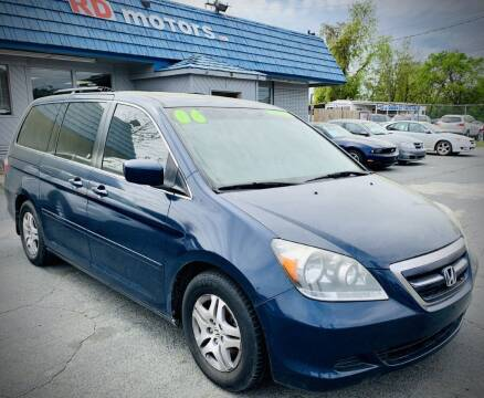 2006 Honda Odyssey for sale at RD Motors, Inc in Charlotte NC