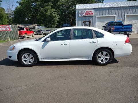 2012 Chevrolet Impala for sale at Hilltop Auto in Clare MI