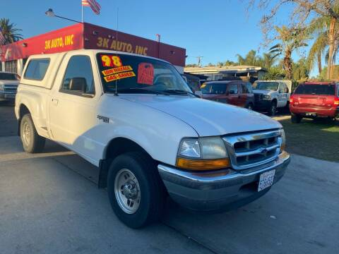 1998 Ford Ranger for sale at 3K Auto in Escondido CA