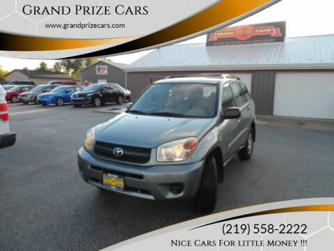 2005 Toyota RAV4 for sale at Grand Prize Cars in Cedar Lake IN