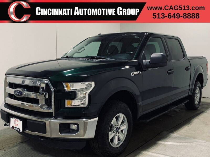2016 Ford F-150 for sale at Cincinnati Automotive Group in Lebanon OH