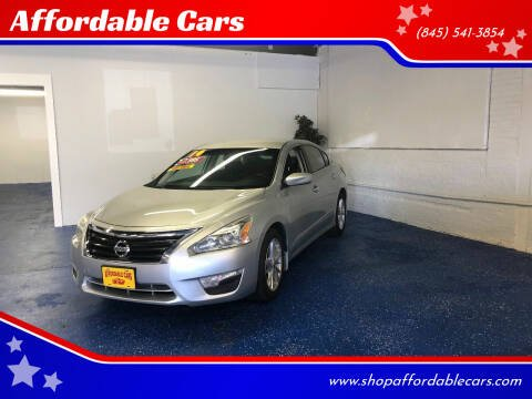 2014 Nissan Altima for sale at Affordable Cars in Kingston NY