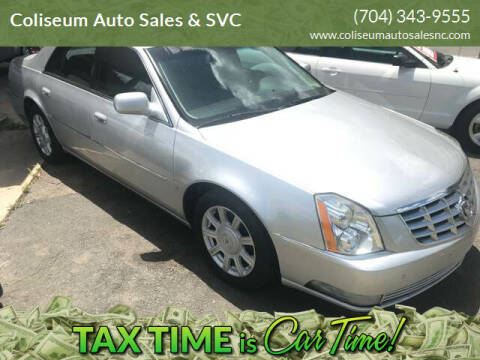 2009 Cadillac DTS for sale at Coliseum Auto Sales & SVC in Charlotte NC