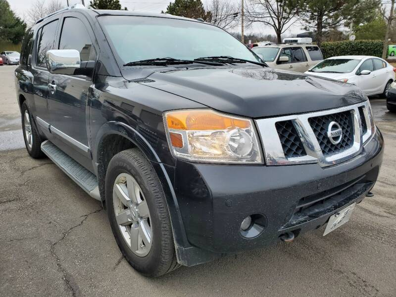 2010 Nissan Armada for sale at M & M Auto Brokers in Chantilly VA