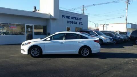 2016 Hyundai Sonata for sale at VINE STREET MOTOR CO in Urbana IL