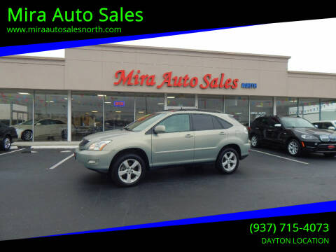 2007 Lexus RX 350 for sale at Mira Auto Sales in Dayton OH