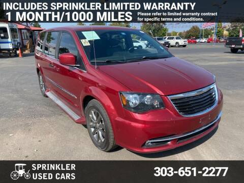 2016 Chrysler Town and Country for sale at Sprinkler Used Cars in Longmont CO