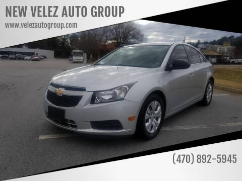 2012 Chevrolet Cruze for sale at NEW VELEZ AUTO GROUP in Gainesville GA