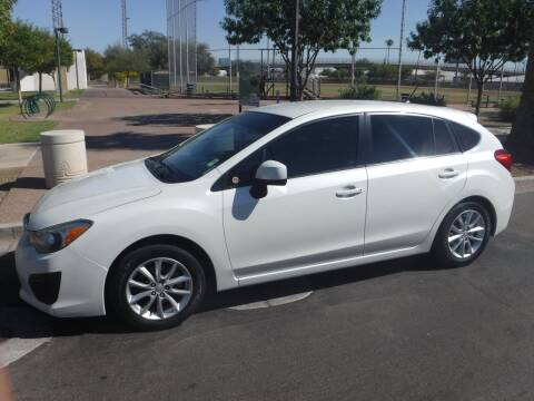 2013 Subaru Impreza for sale at J & E Auto Sales in Phoenix AZ