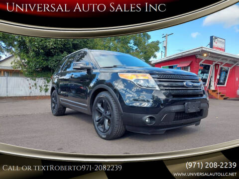 2015 Ford Explorer for sale at Universal Auto Sales Inc in Salem OR