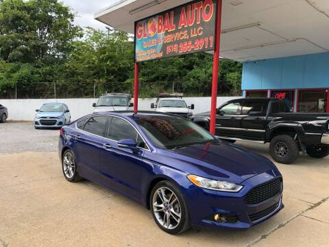 2013 Ford Fusion for sale at Global Auto Sales and Service in Nashville TN