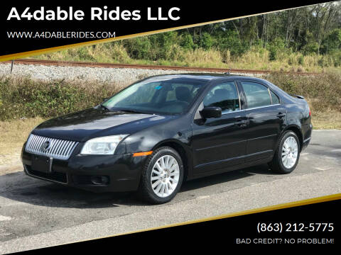 2009 Mercury Milan for sale at A4dable Rides LLC in Haines City FL