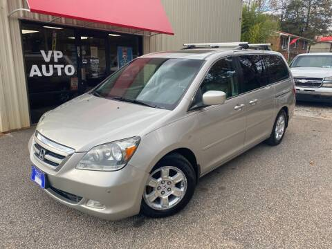 2007 Honda Odyssey for sale at VP Auto in Greenville SC