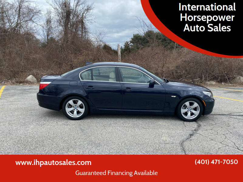 2008 BMW 5 Series for sale at International Horsepower Auto Sales in Warwick RI
