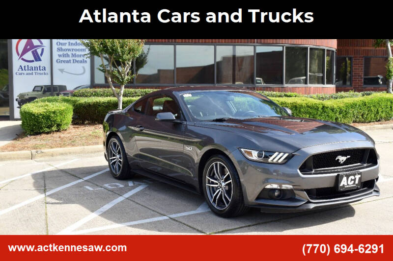 2017 Ford Mustang for sale at Atlanta Cars and Trucks in Kennesaw GA