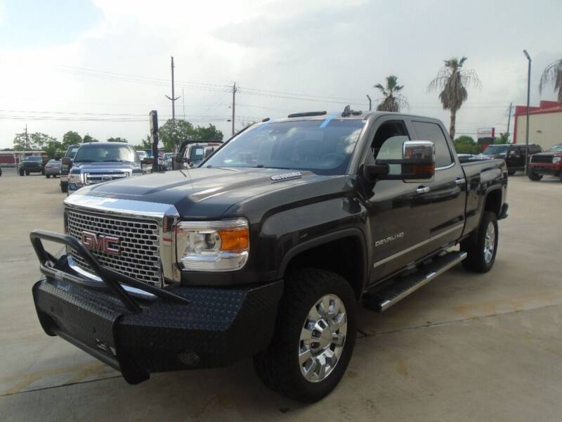 2016 GMC Sierra 2500HD for sale at Premier Foreign Domestic Cars in Houston TX