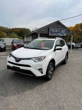 2018 Toyota RAV4 for sale at Frontline Motors Inc in Chicopee MA