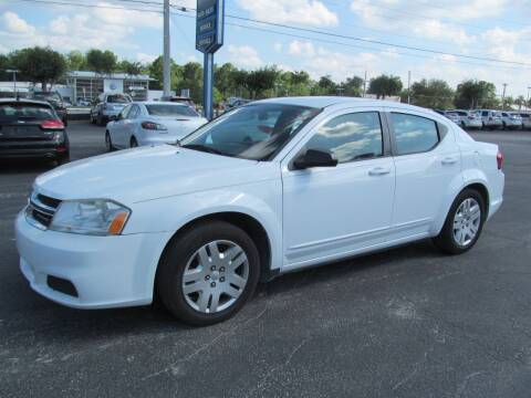 2012 Dodge Avenger for sale at Blue Book Cars in Sanford FL