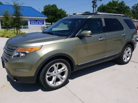 2013 Ford Explorer for sale at Kell Auto Sales, Inc - Grace Street in Wichita Falls TX