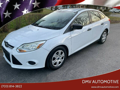 2013 Ford Focus for sale at DMV Automotive in Falls Church VA