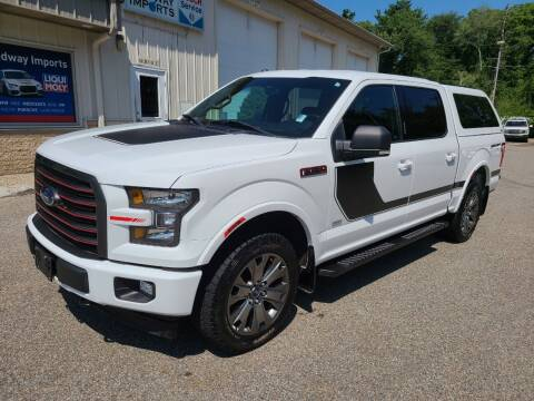 2017 Ford F-150 for sale at Medway Imports in Medway MA