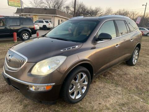 2009 Buick Enclave for sale at Texas Select Autos LLC in Mckinney TX