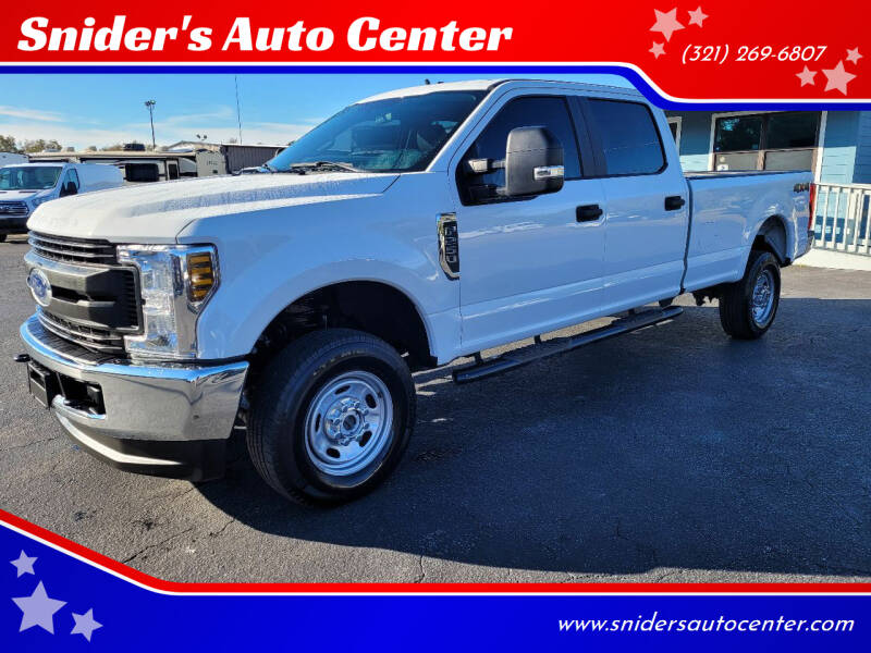 2019 Ford F-250 XL for sale at Snider's Auto Center in Titusville FL